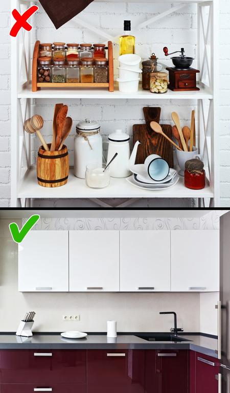 کابینت بسته در دکوراسیون آشپزخانه